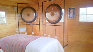 Sound Healing Treatment Room with GONGS: OMwestport@gmail.com